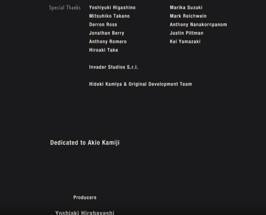 INVADER STUDIOS MENTIONED IN THE RESIDENT EVIL 2 REMAKE GAME CREDITS